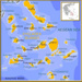 map of Clyclades Islands